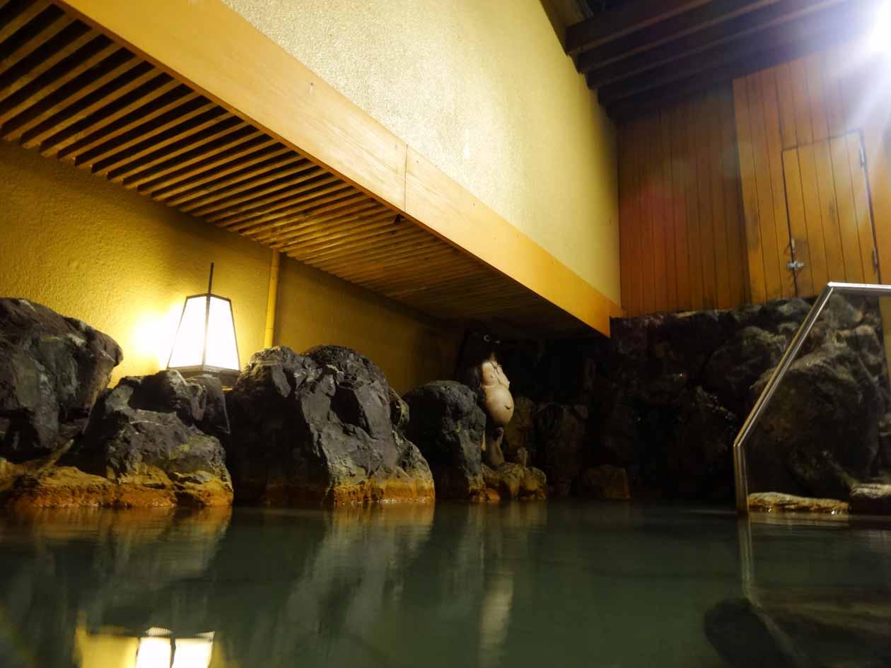 いぶすき秀水園 露天風呂