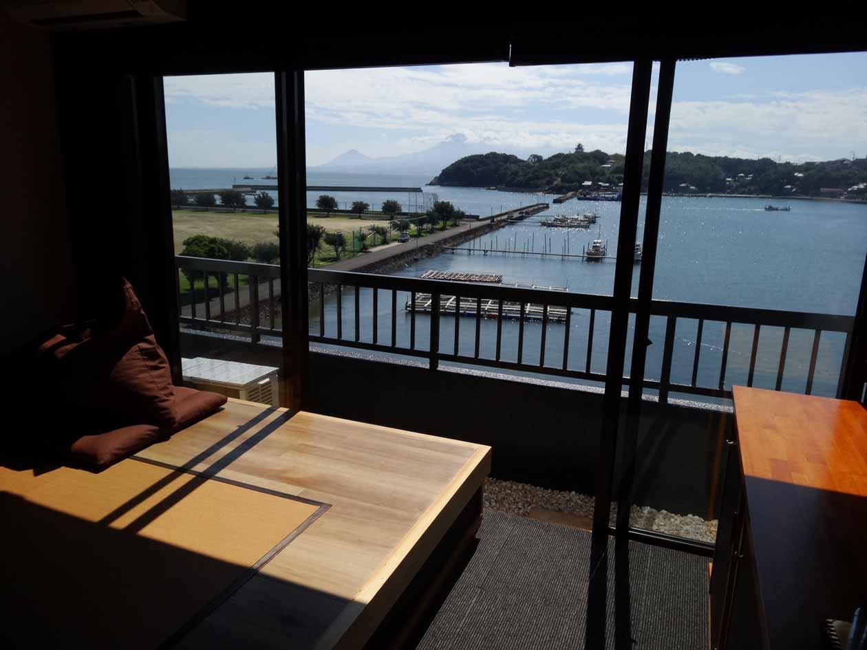 太良竹崎温泉 鶴荘 部屋からの眺め