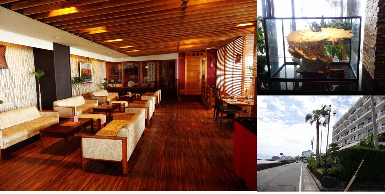 指宿コーラルビーチホテル フロント