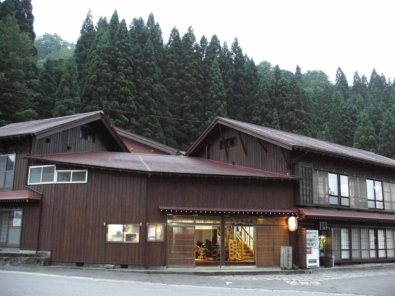 石川県 白山温泉永井旅館