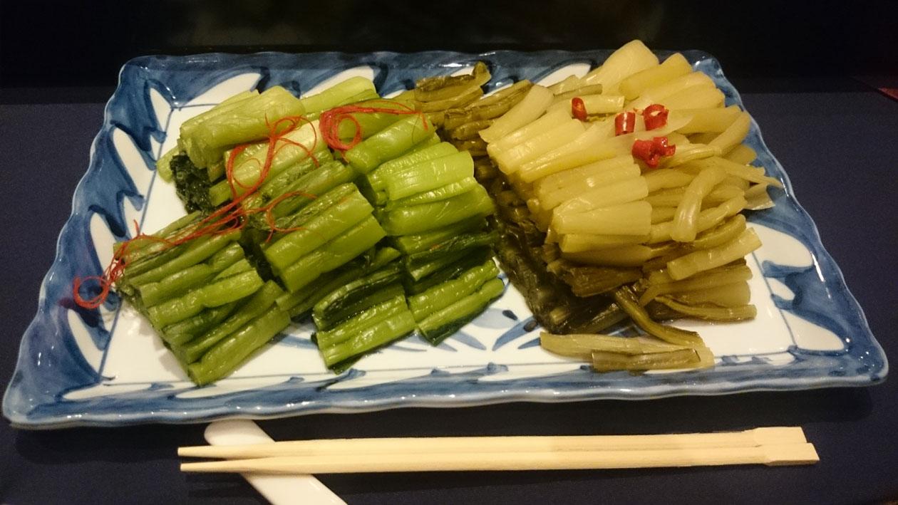 長野県 野沢温泉 のざわな蕪四季會社 野沢菜