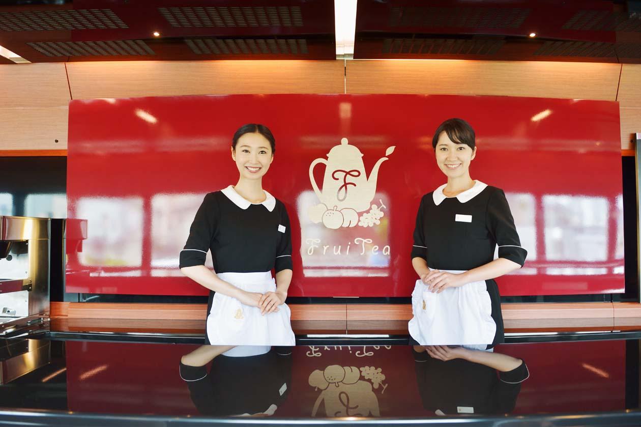 JR東日本 走るカフェ・フルーティアふくしま 郡山 磐梯熱海 会津若松