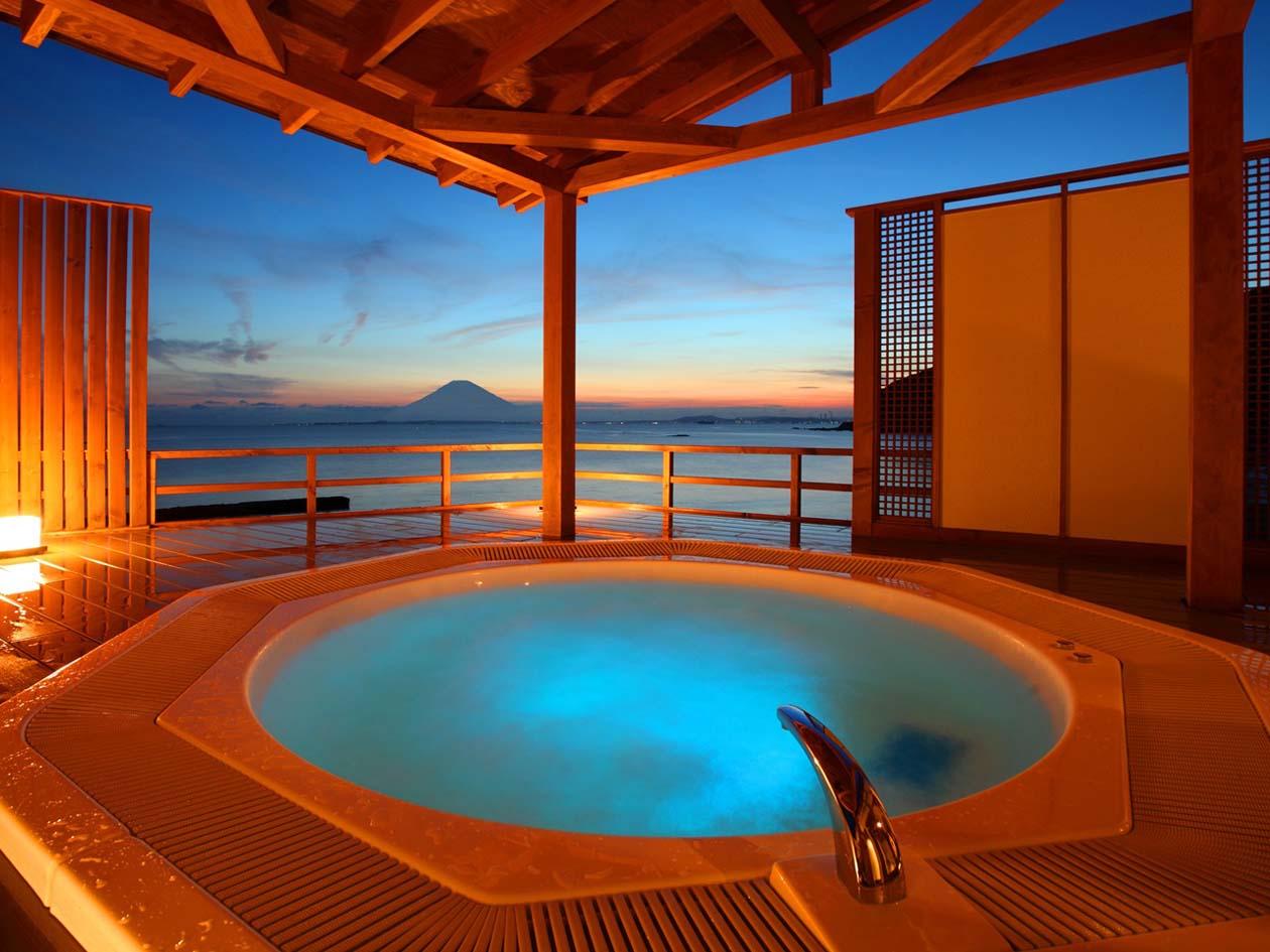 千葉県鋸南町 Beachside Onsen Resort ゆうみ