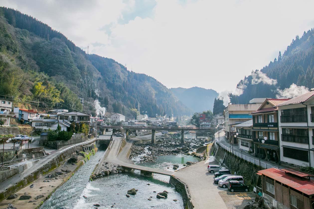 熊本県 杖立温泉 みちくさ市