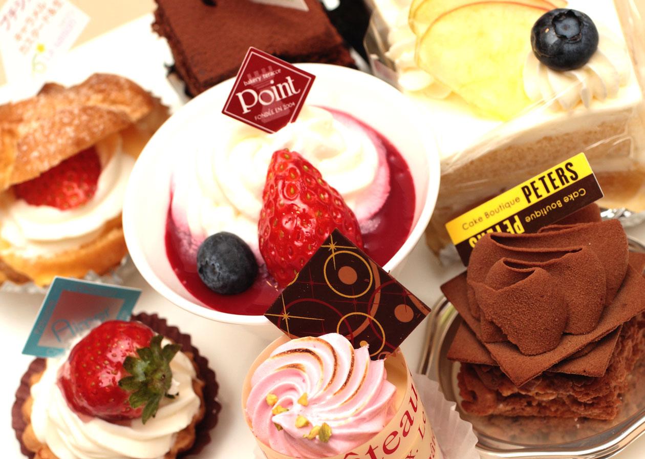 長野県佐久市は日本三大ケーキの街の1つ。なお他の2つは東京の自由が丘と神戸