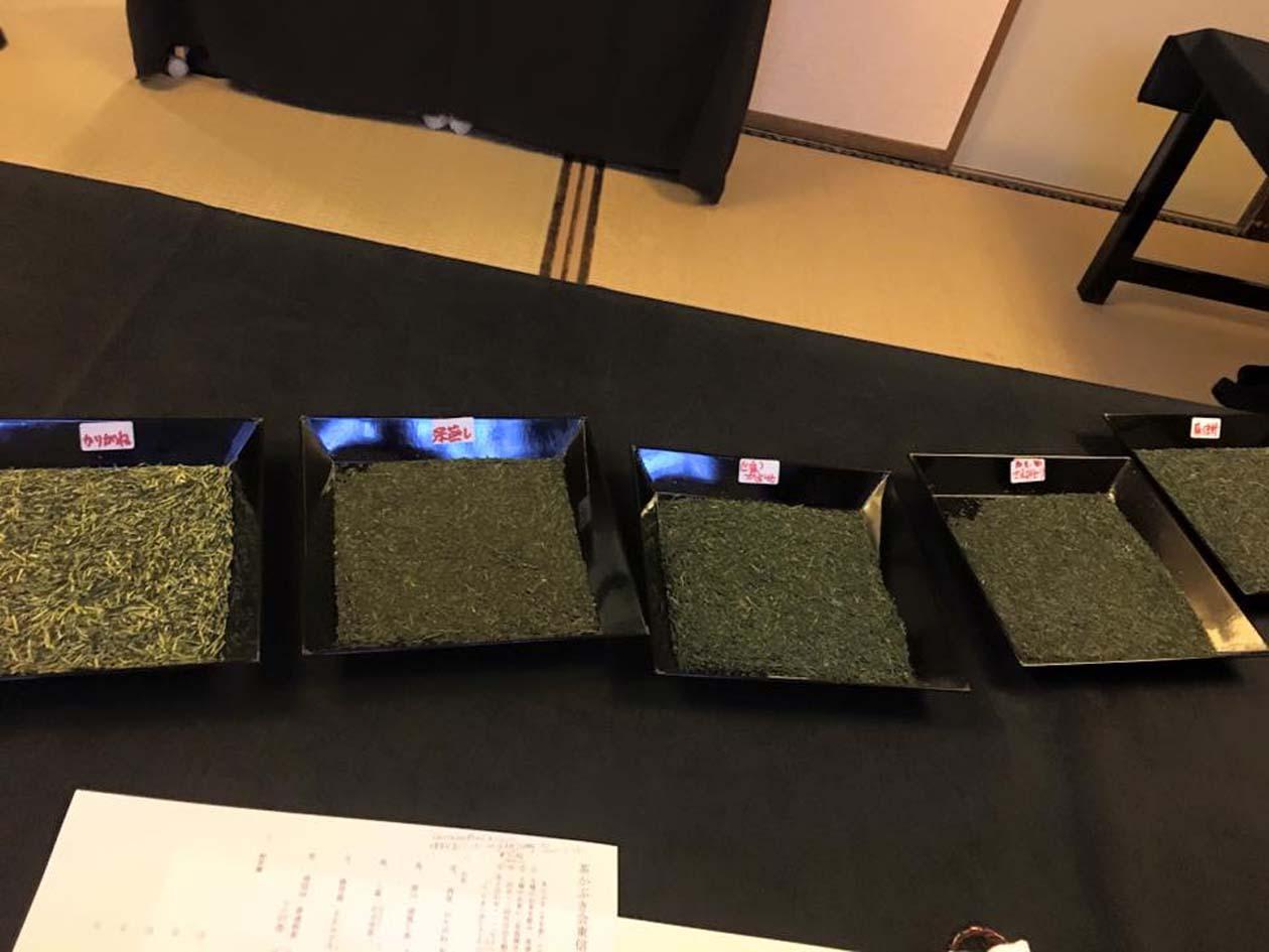長野県小諸市 町屋で茶かぶき きき茶イベント