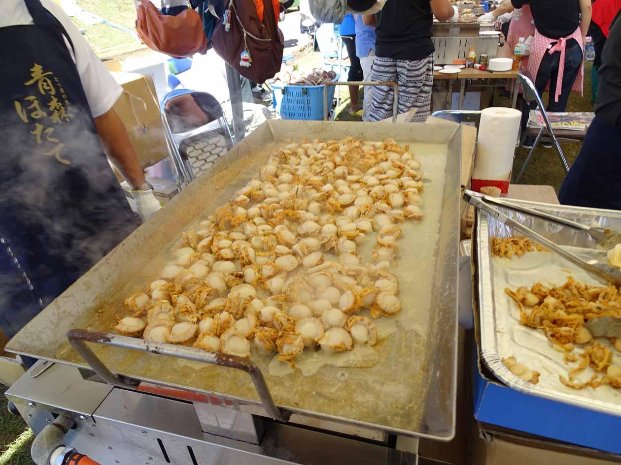 青森県平内町 ほたての祭典