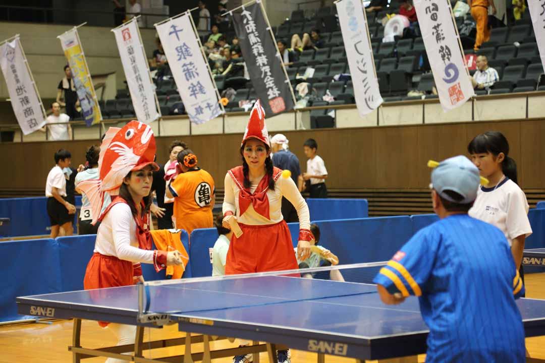 第3回仙崎かまぼこ板っ球大会in長門湯本温泉