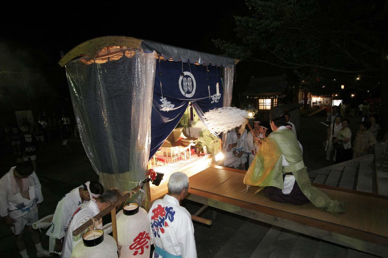 熊本県山鹿市 山鹿灯籠まつり 山鹿温泉