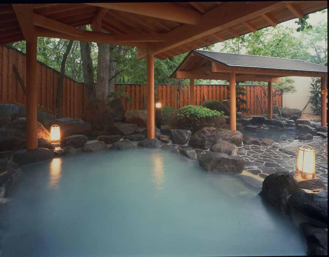 山形県蔵王温泉 湯の花茶屋 新左衛門の湯