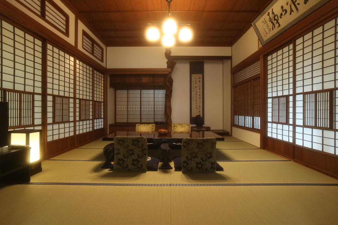長野県 別所温泉 旅館 花屋 真田丸の舞台だった上田藩の上級武家屋敷を移築した客室・桜御殿