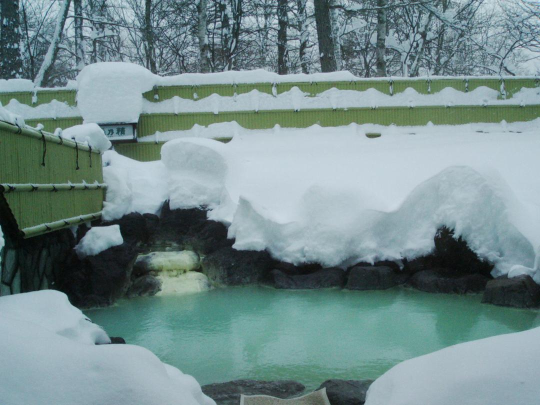 日光アストリアホテル雪見露天風呂
