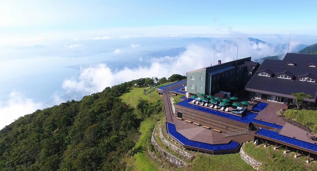 コロナ 琵琶湖 テラス