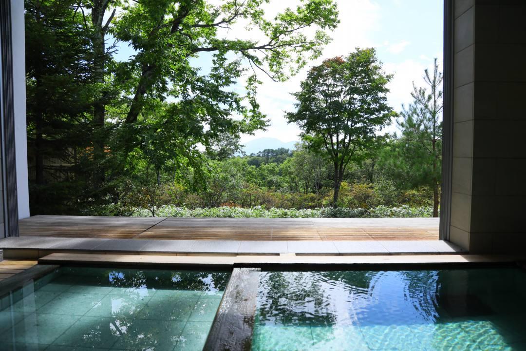 草津温泉ホテル クアビオの温泉