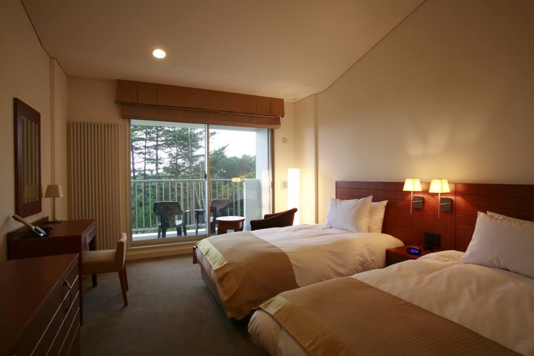 草津温泉ホテル クアビオの客室例