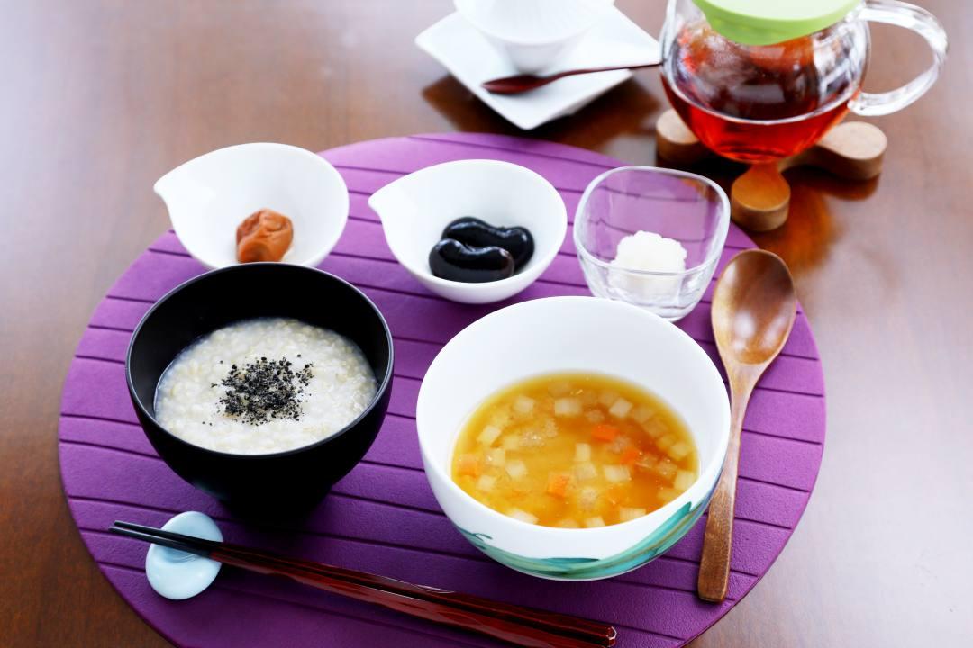 草津温泉ホテル クアビオ・断食明けの復食メニュー