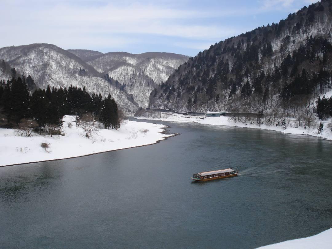 最上川芭蕉ライン川下りこたつ舟