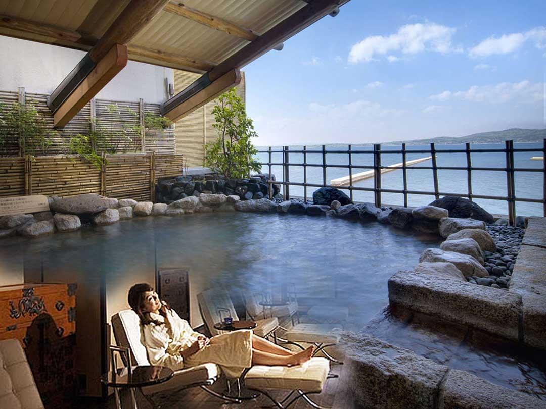 和倉温泉加賀屋にある能登の空間でリラクゼーションを受けられる庵SPA NOTO