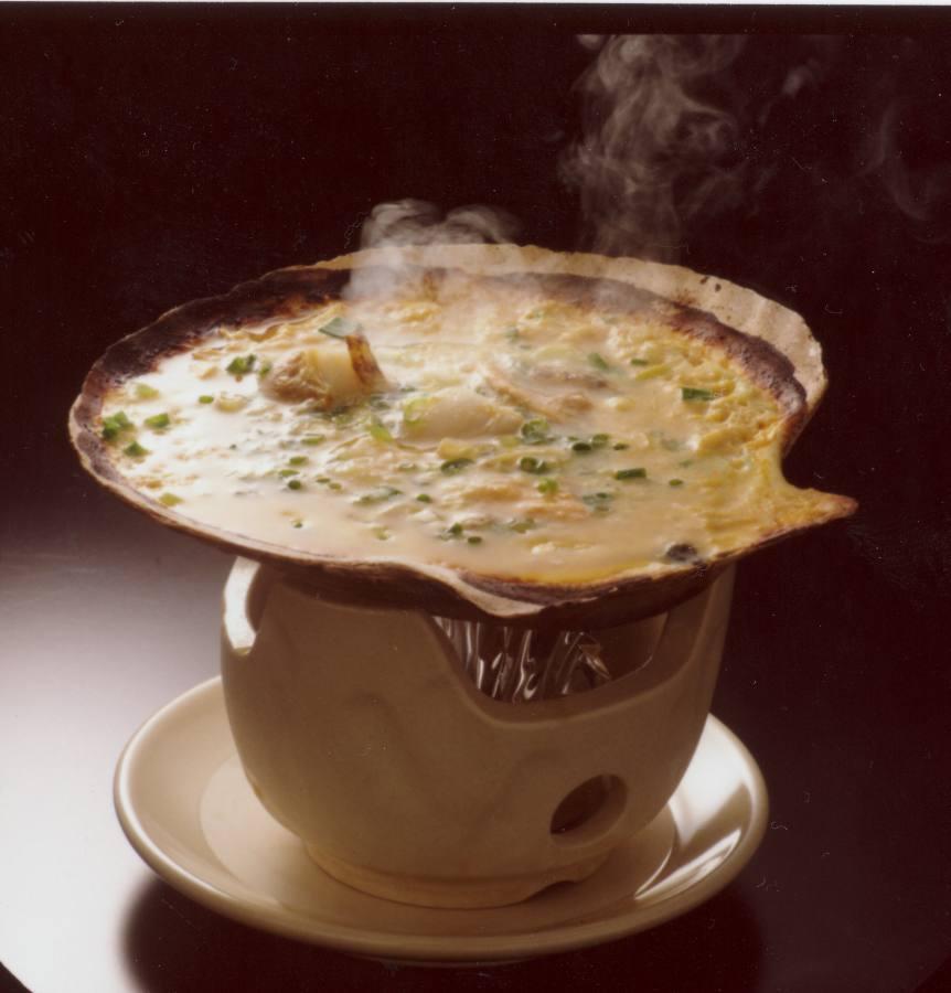 津軽の郷土料理、貝焼き味噌