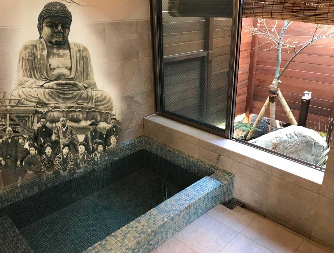 2021年1月に別府公園近くにOPENしたゆめひのきの湯大仏温泉