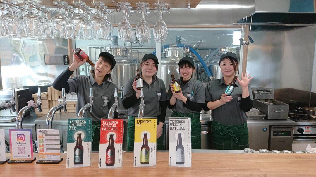 緑色・マスカットの風味のクラフトビールが名物の新潟県新発田市・月岡ブルワリー